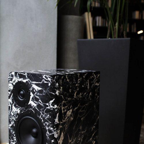 Deep Breath Black Marble